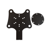 4-channel buttonplate