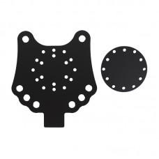 Acrylic Button Plate B and Disk