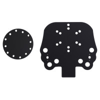 Acrylic Button Plate C62 and Disk