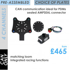 FREEWheel 4-Channel CAN-ONLY Easyfit System