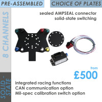 FREEWheel RACE 8-Channel SOLID-STATE Easyfit System