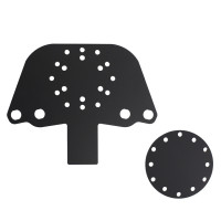 Acrylic Button Plate G and Disk