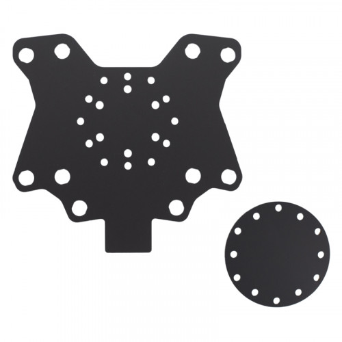 10 hole button plate X10
