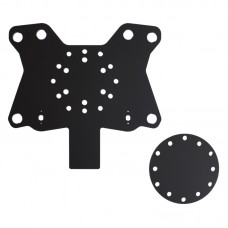 Acrylic Button Plate X62 and Disk