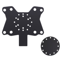Acrylic Button Plate X8 and Disk