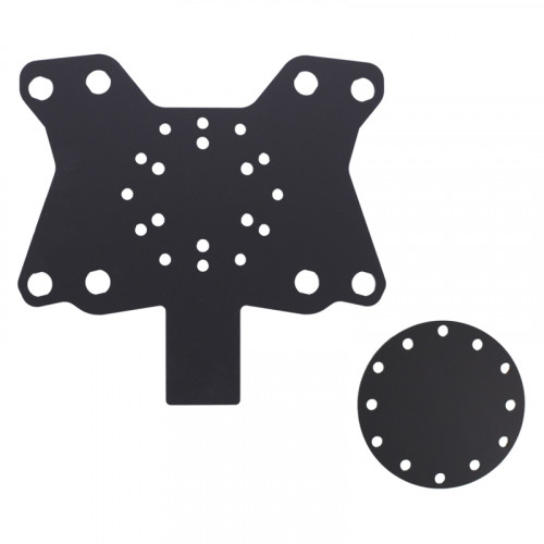 8 hole button plate X8