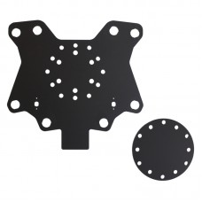 Acrylic Button Plate X82 and Disk